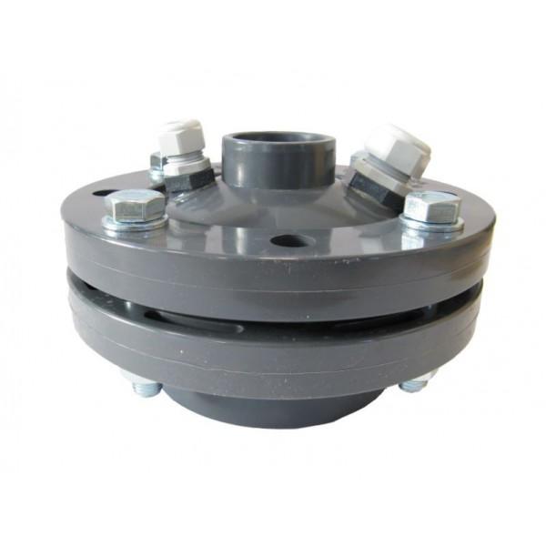 """PVC putdeksel t.b.v. bronpomp 125 mm x  1½"""""""