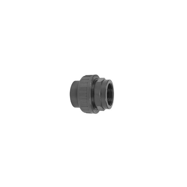 """Pvc koppeling lijm/bin. 16 mm - 3/8"""""""