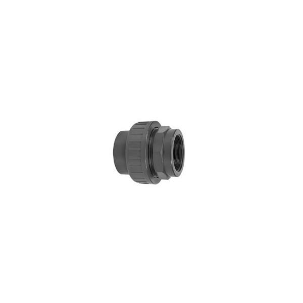 """Pvc koppeling lijm/bin. 63 mm - 2"""""""