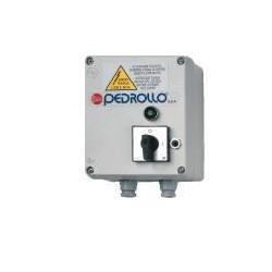 Pedrollo aansluitkast bronpomp QEM 075