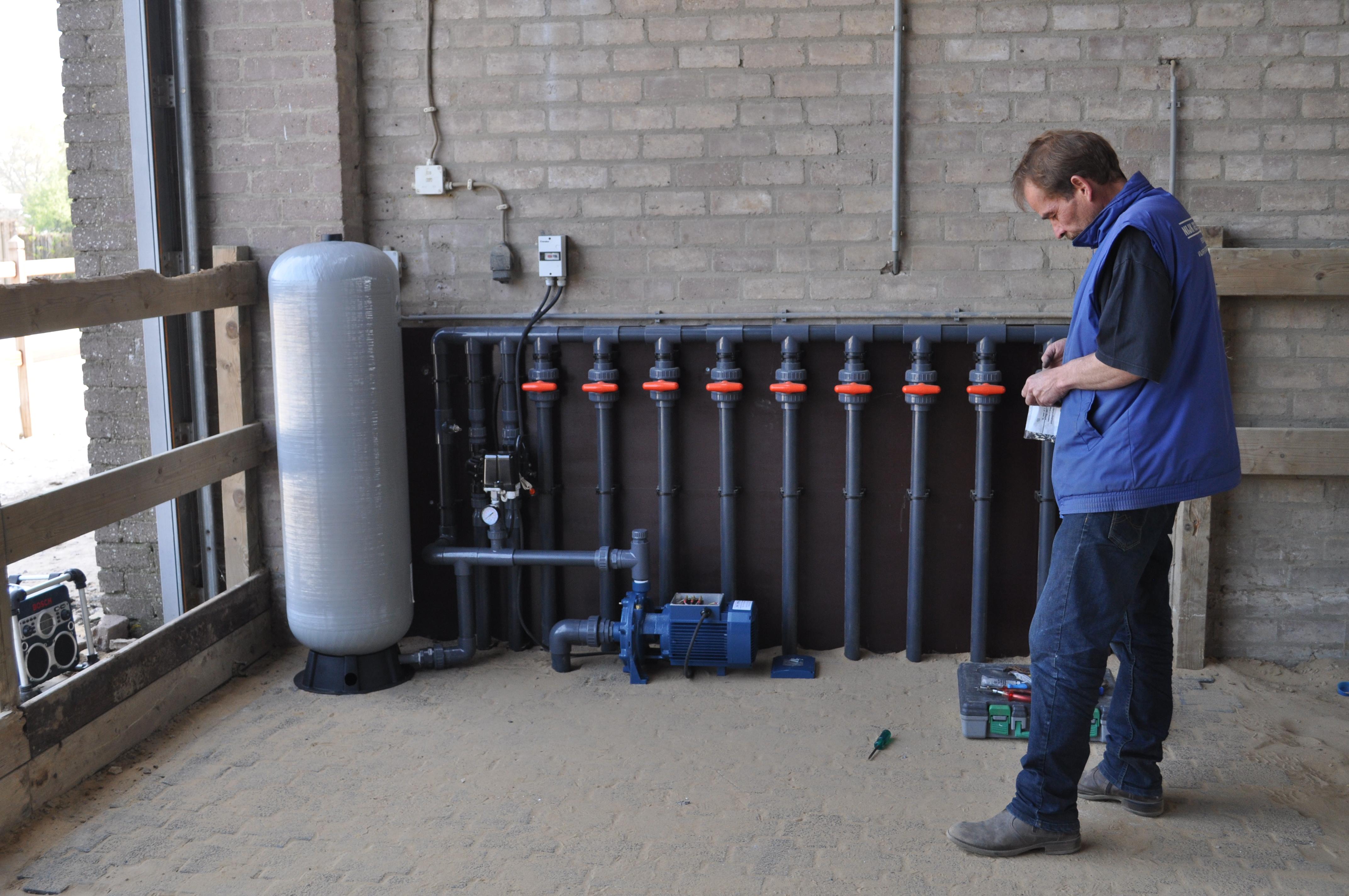 Aanleg installatie Nijk-Speet BV Oss